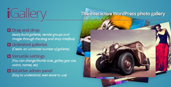 iGallery — плагин для WordPress