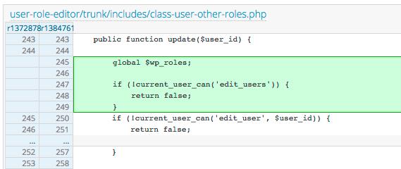 Критическая уязвимость в плагине User Role Editor