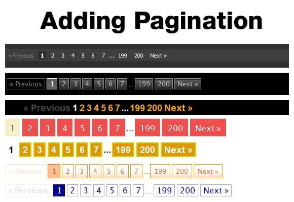 Как сделать числовую пагинацию в WordPress без плагинов